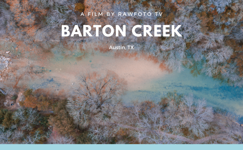 Barton Creek Trail in Austin TX Drone Footage
