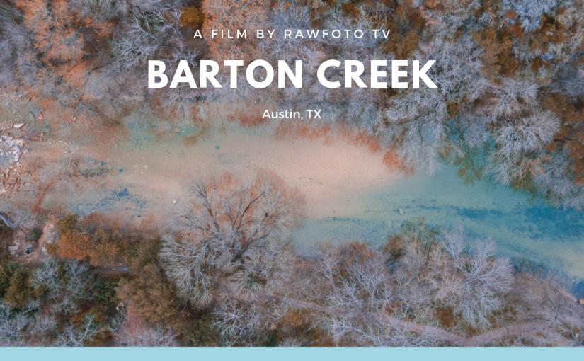 Barton Creek Trail in Austin TX DroneFootage